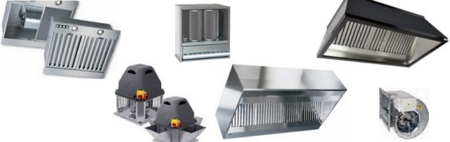 Ventilation professionnelle table de cuisine for Ventilation hotte cuisine